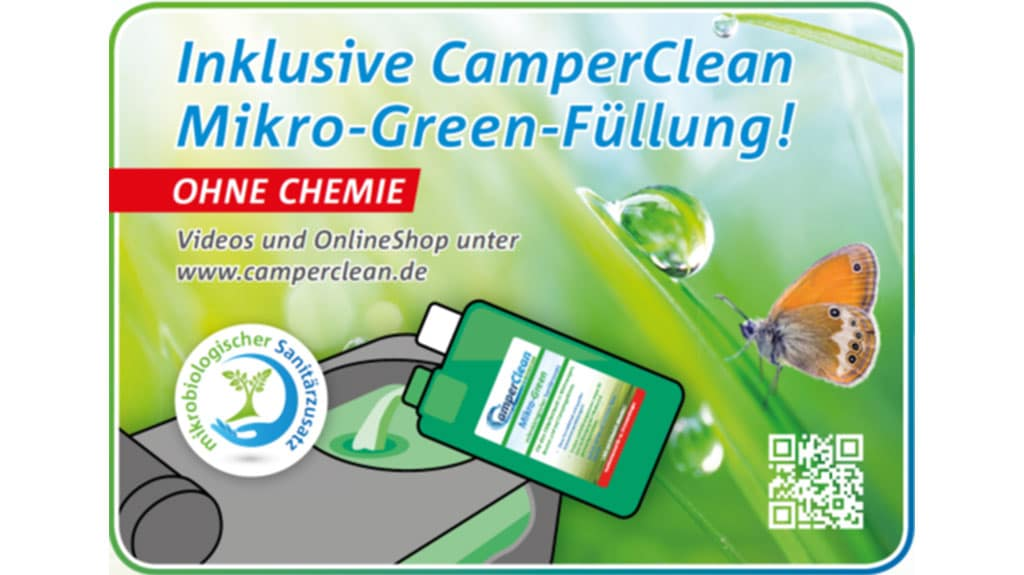 CamperClean Station Mikro-Green