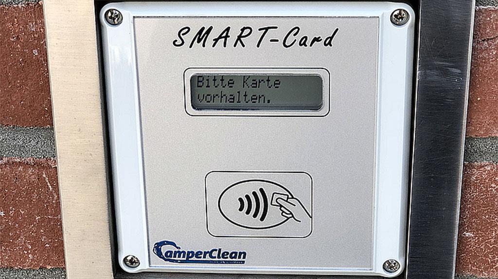 SmartCard CamperClean