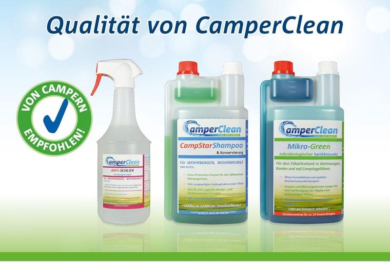 CamperClean Produkte
