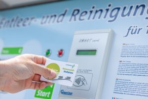 SmartCard Reisemobilstellplatz